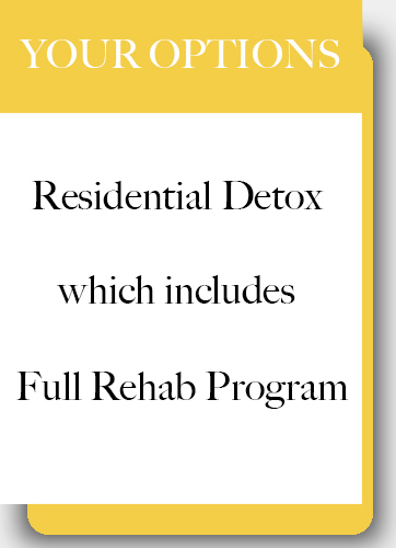 heroin addiction residential detox